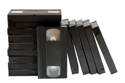 VHS Tape Transfer to Digital